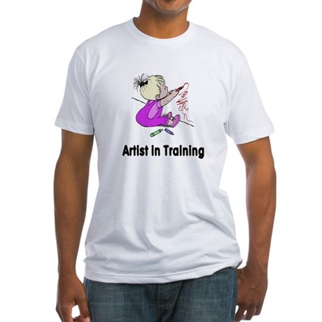 Artist in Training Fitted T-Shirt