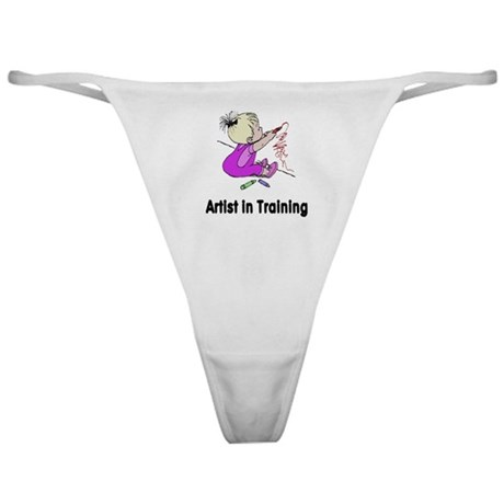 Artist in Training Classic Thong
