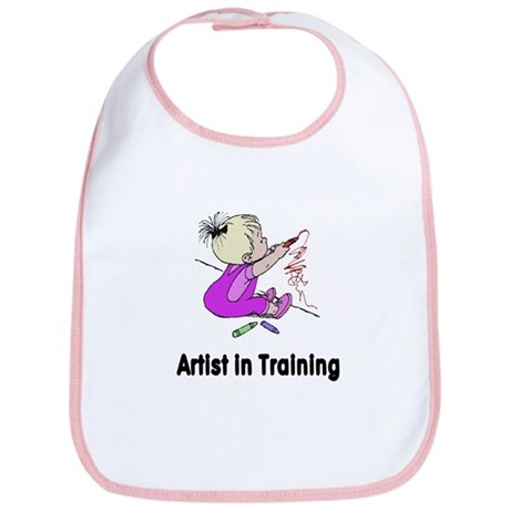 Artist in Training Bib