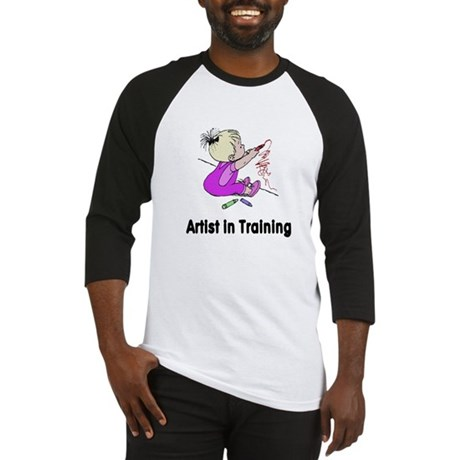 Artist in Training Baseball Jersey