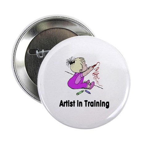 "Artist in Training 2.25"" Button"