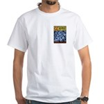 The Wizard of Oz Tin man White T-Shirt
