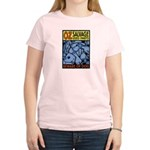The Wizard of Oz Tin man Women's Pink T-Shirt