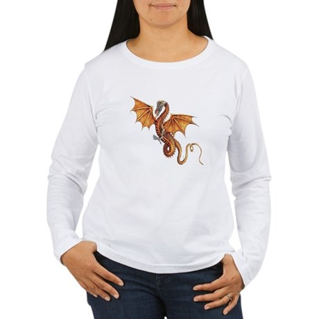 Fantasy Dragon Women's Long Sleeve T-Shirt