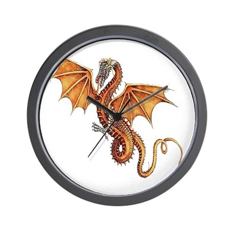 Fantasy Dragon Wall Clock