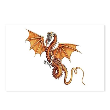Fantasy Dragon Postcards (Package of 8)