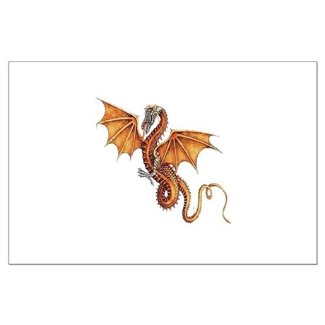 Fantasy Dragon Large Poster