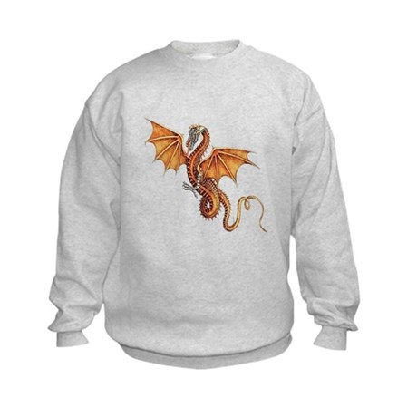 Fantasy Dragon Kids Sweatshirt