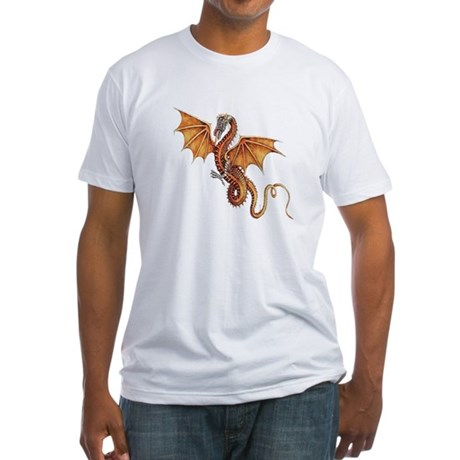 Fantasy Dragon Fitted T-Shirt