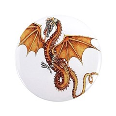 "Fantasy Dragon 3.5"" Button (100 pack)"