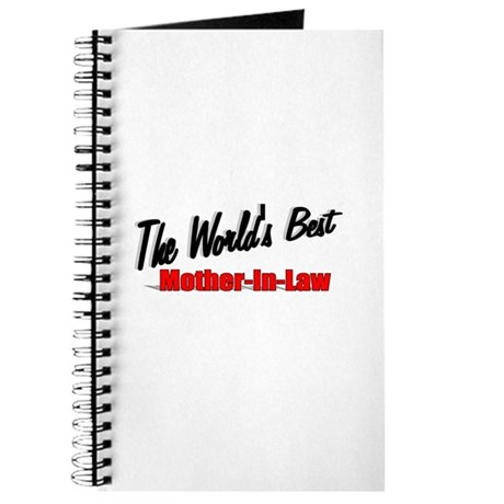 &quot; The World's Best Mother-In-Law&quot; Journal
