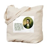 Adams &amp; Burns Quotes Tote Bag