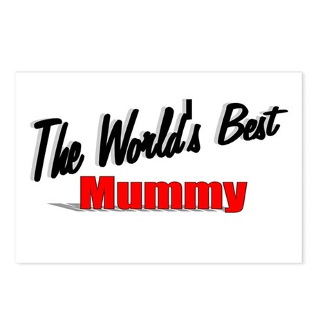 """The World's Best Mummy"" Postcards (Package of 8)"