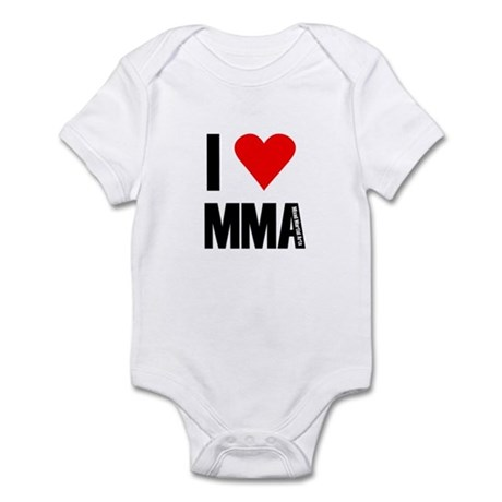 i heart mma Body Suit