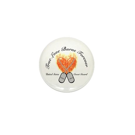 True Love Coast Guard Mom Mini Button (10 pack)