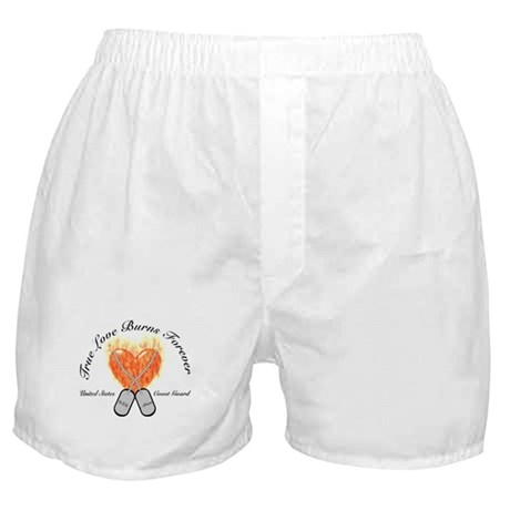 True Love Coast Guard Mom Boxer Shorts