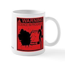 Science In Progress (red) Mug