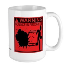 Science In Progress (red) Mug