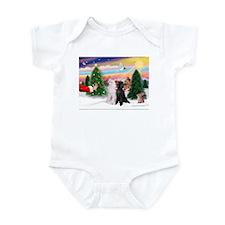 Treat/Two Poodles (ST) Infant Bodysuit