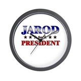 JAROD for president Wall Clock