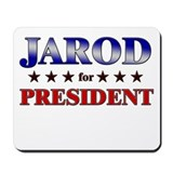 JAROD for president Mousepad