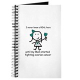 Teal Ribbon - Hero Mom Journal