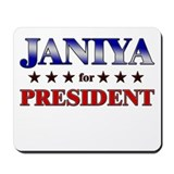 JANIYA for president Mousepad