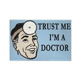 Doctor Trust Rectangle Magnet