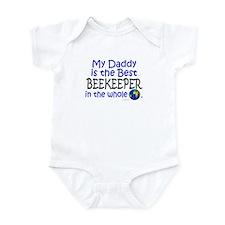 Best Beekeeper In The World (Daddy) Infant Bodysui