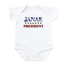 JANAE for president Infant Bodysuit