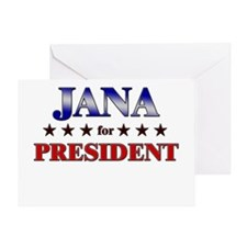 JANA for president Greeting Card