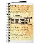 Judge Roy Bean Journal