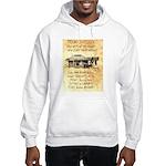 Judge Roy Bean Hooded Sweatshirt