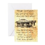 Judge Roy Bean Greeting Cards (Pk of 20)