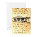 Judge Roy Bean Greeting Cards (Pk of 10)