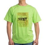 Judge Roy Bean Green T-Shirt