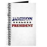JAMISON for president Journal