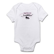 Cute Saddleseat Infant Bodysuit
