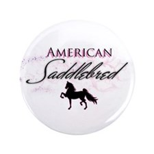"Cute Saddleseat 3.5"" Button (100 pack)"