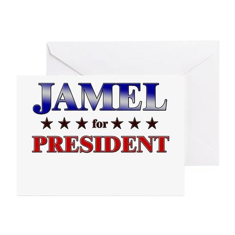 JAMEL for president Greeting Cards (Pk of 20)