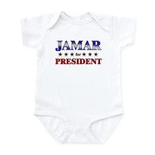 JAMAR for president Infant Bodysuit