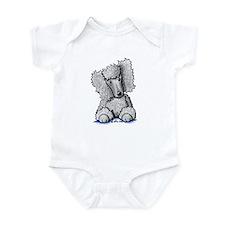 Silver Poodle Infant Bodysuit