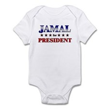 JAMAL for president Infant Bodysuit