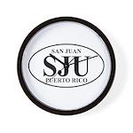 SJU San Juan Wall Clock