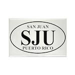 SJU San Juan Rectangle Magnet (10 pack)