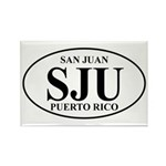 SJU San Juan Rectangle Magnet (100 pack)