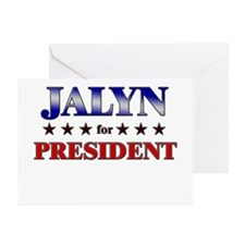JALYN for president Greeting Cards (Pk of 10)