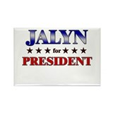 JALYN for president Rectangle Magnet