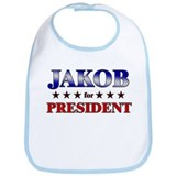 JAKOB for president Bib