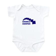 Cornhole Champion Infant Bodysuit